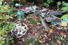 Odpady w Modrzewiu koło Wlenia 05