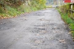 Droga przy Zaporze wodnej w Pilchowicach 1