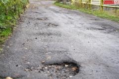 Droga przy Zaporze wodnej w Pilchowicach 4