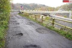 Droga przy Zaporze wodnej w Pilchowicach 5