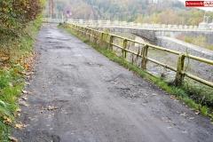 Droga przy Zaporze wodnej w Pilchowicach 6