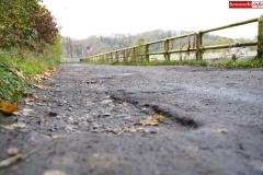Droga przy Zaporze wodnej w Pilchowicach 7