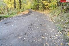 Droga przy Zaporze wodnej w Pilchowicach 9