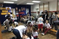 Uczniowie ze Zbylutowa bili rekord w resuscytacji krążeniowo - oddechowej 2