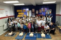 Uczniowie ze Zbylutowa bili rekord w resuscytacji krążeniowo - oddechowej 3
