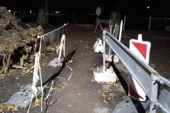 Lwóek Śląski ulica Betleja most zastępczy 08