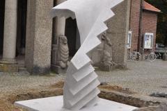 Bürkle Rakowice Małe beton schody praca 4