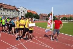 Chłopcy z SP 2 w Lwówku Śląskim w czołówce Polski 01
