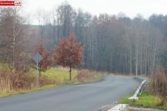 droga 2491d Siedlęcin osuwisko 1