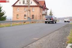 droga 2491d Siedlęcin osuwisko 2