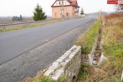 droga 2491d Siedlęcin osuwisko 6