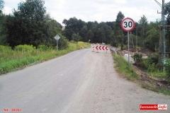 droga 2491d Siedlęcin osuwisko 8