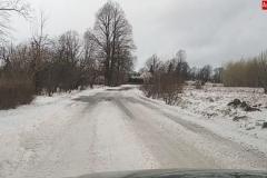 drogi zasypane śniegiem 2020 2