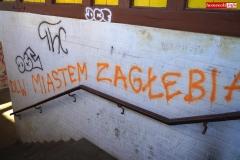 Dworzec kolejowy w Lwówku Śląskim graffiti na peronach 2