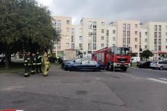 Działania strażaków w centrum Lwówka Śląskiego 5