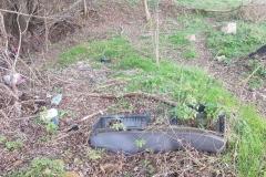 Dzikie wysypisko śmieci w Płóczkach Górnych 3