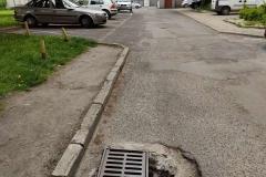 Studzienka kanalizacyjna na ulicy Marii Curie Skłodowskiej w Lwówku Śląskim - dziura1