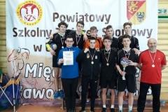 Finał Strefy Jeleniogórskiej SZS – piłka ręczna chłopców igrzysk młodzieży 7