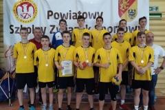 Finał Strefy Jeleniogórskiej SZS – piłka ręczna chłopców igrzysk młodzieży 8