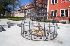 fontanna z czaplą lwówek śląski 2020 2