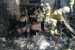 Groźny pożar w Rębiszowie 2