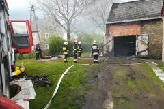 Groźny pożar w Rębiszowie 4
