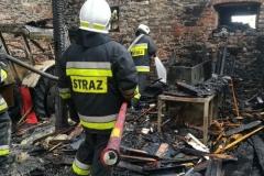 Groźny pożar w Rębiszowie 7