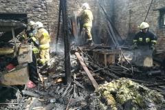 Groźny pożar w Rębiszowie 8