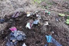 Wysypisko śmieci w Grudzy koło Mirska 1