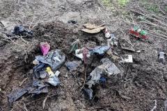 Wysypisko śmieci w Grudzy koło Mirska 2