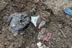 Wysypisko śmieci w Grudzy koło Mirska 4