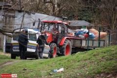 Gryfowscy urzednicy posprzątali park 5