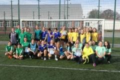 Igrzyska młodzieży  w piłce nożnej dziewcząt SZS 1