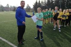 Igrzyska młodzieży  w piłce nożnej dziewcząt SZS 3