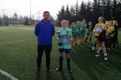 Igrzyska młodzieży  w piłce nożnej dziewcząt SZS 4