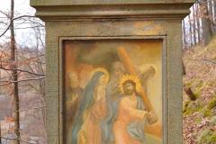11 Kalwaria w Pławnej - Jezus spotyka Matkę
