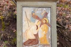 13 Kalwaria w Pławnej - Św Weronika ociera twarz Panu Jezusowi
