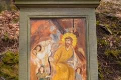 15 Kalwaria w Pławnej - Jezus pociesza płaczące niewiasty