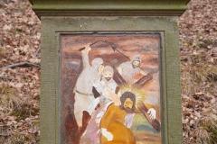17 Kalwaria w Pławnej - Jezus po raz trzeci upada pod krzyżem