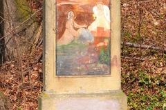 3 Kalwaria w Pławnej - Jezus w Ogrodzie Oliwnym