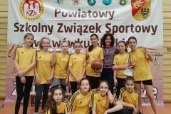 SP 2 Lwówek Śląski - Koszykówka igrzysk dzieci dzewczęta