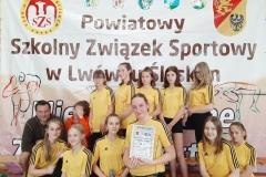SP 2 Lwówek Śląski - dziewczęta Koszykówka dziewcząt i chłopców igrzysk młodzieży