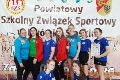 SP Mirsk - dziewczęta Koszykówka dziewcząt i chłopców igrzysk młodzieży