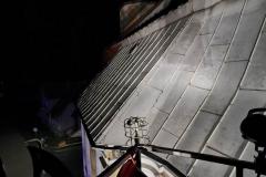 Strażacy uratowali kota uwięzionego na dachu kościoła 5