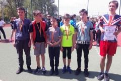 Lekkoatletyczny czwórbój przyjaźni igrzysk dzieci 12