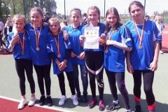 Lekkoatletyczny czwórbój przyjaźni igrzysk dzieci 13