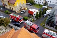 Przedszkole Lubomierz pożar komina 2