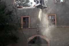 Lubomierz akcja poszukiwawcza w zawalonym budynku zakończona 05