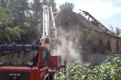 Lubomierz akcja poszukiwawcza w zawalonym budynku zakończona 06
