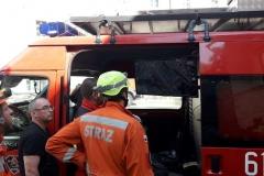 Lubomierz akcja poszukiwawcza w zawalonym budynku zakończona 08
